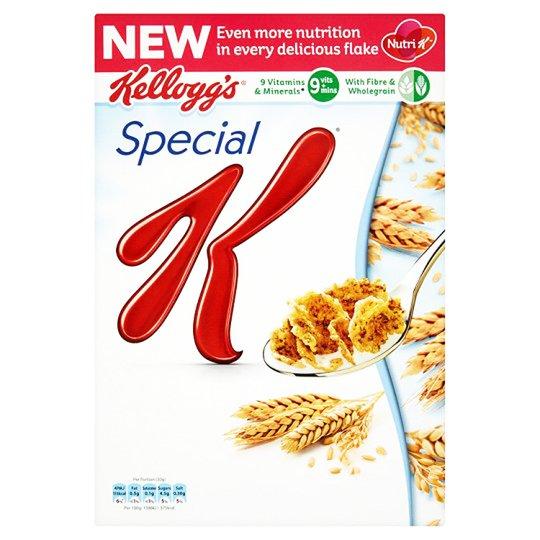 """Flingor """"Special K"""" 375g - 32% rabatt"""