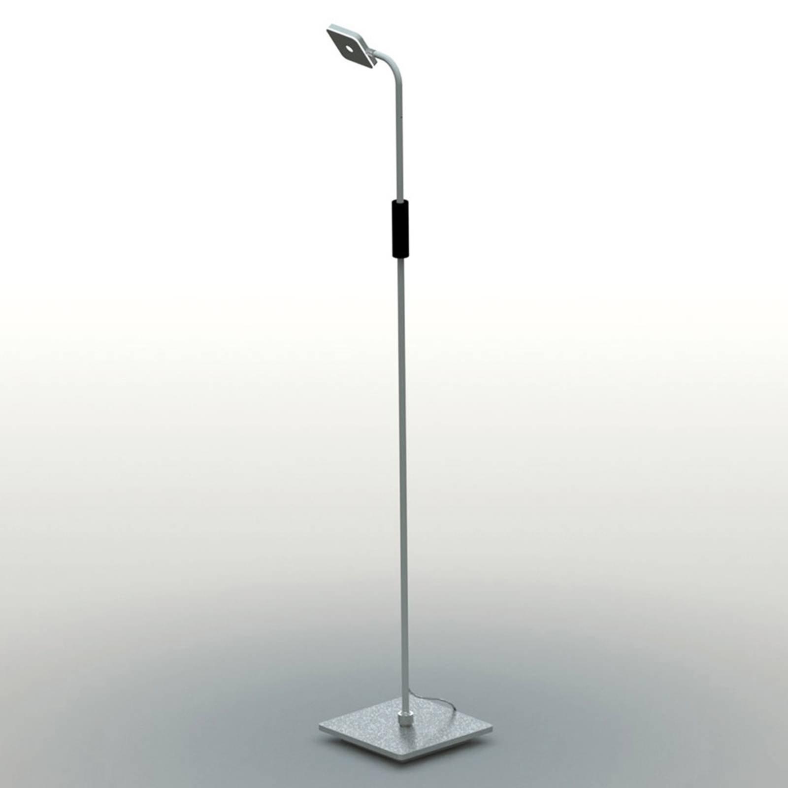 Bopp Move LED-gulvlampe med batteri, aluminium