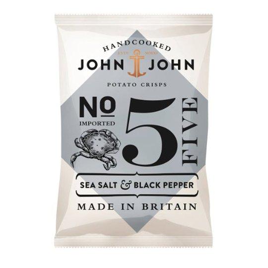 """Chips """"Sea Salt & Black Pepper"""" 40g - 66% rabatt"""
