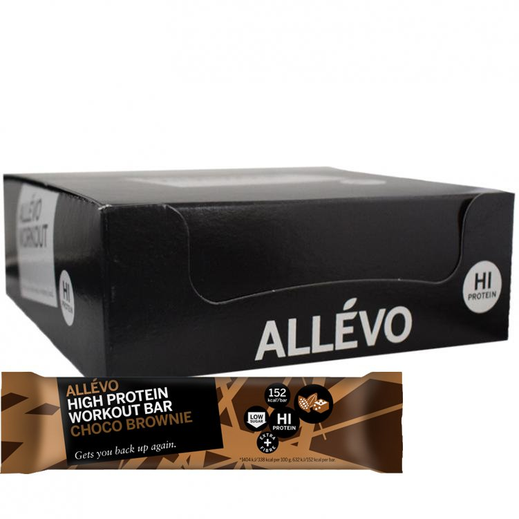 Proteiinipatukat Choco Brownie 18kpl - 67% alennus