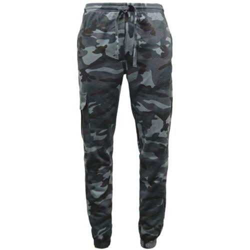 Game Technical Apparel Unisex Joggers Various Colours Camo Joggers - Midnight S