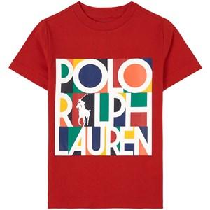 Ralph Lauren Logo T-shirt Röd 2 år