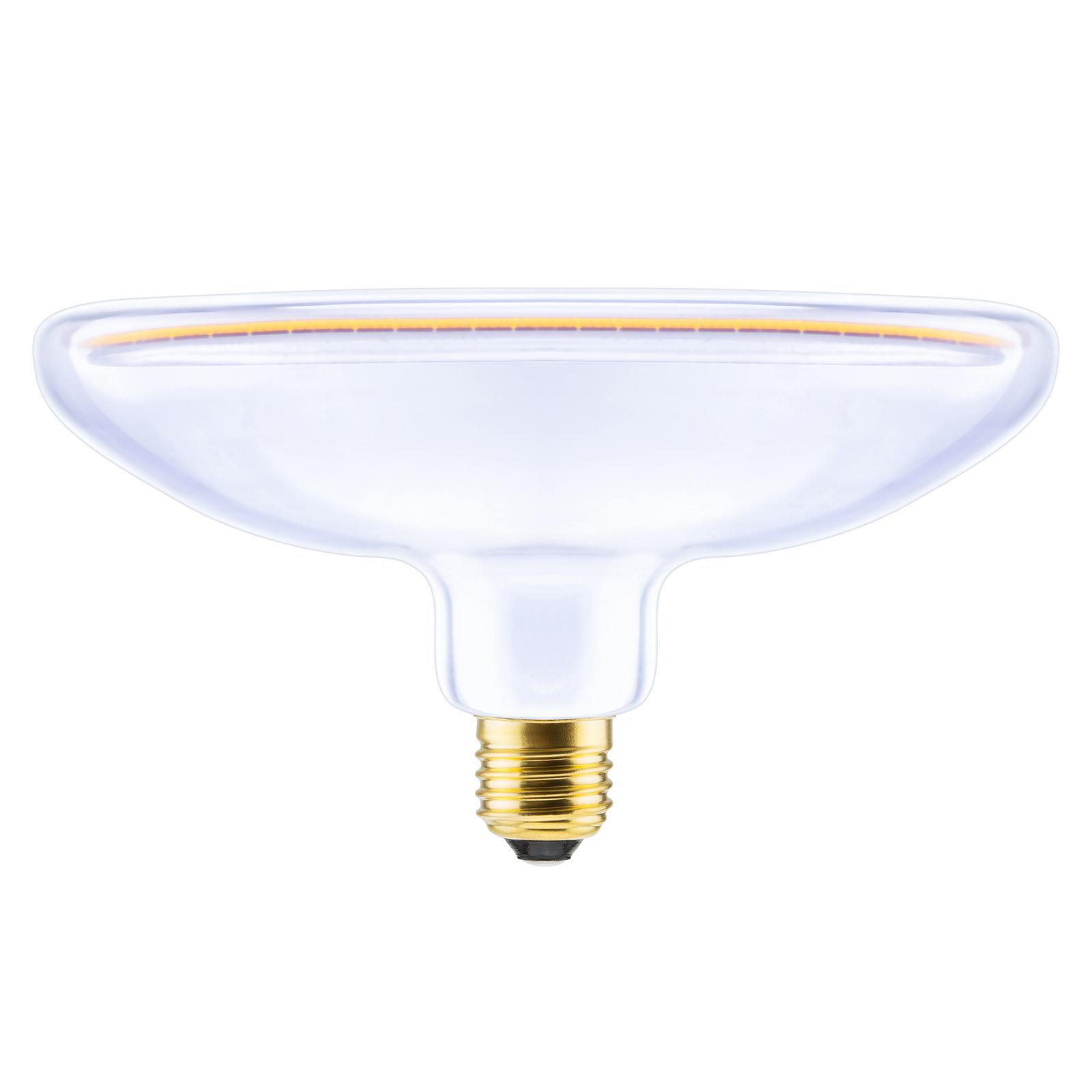 SEGULA LED-Floating-heijastin R200 E27 8W kirkas