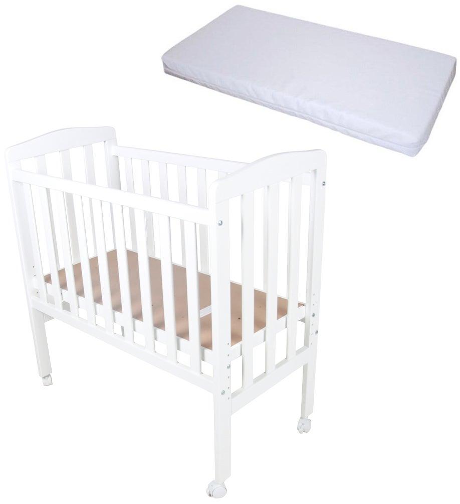 JLY Bedside Crib ja BabyDan Comfort Patja 40x84