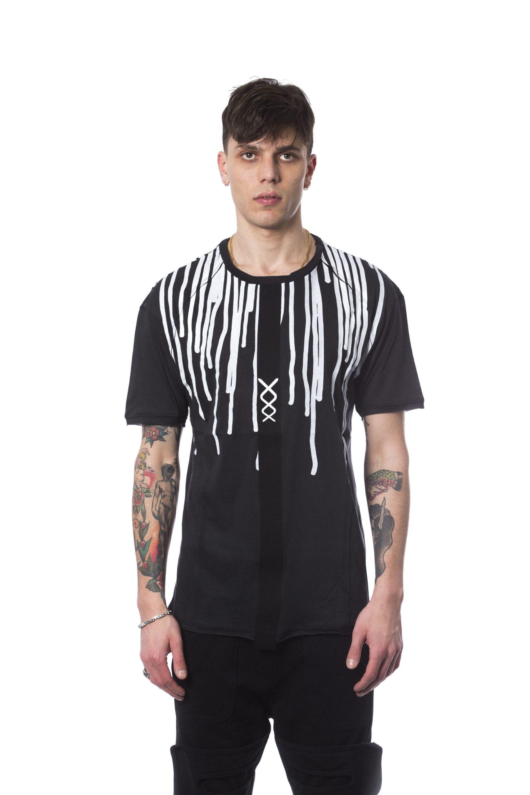 Nicolo Tonetto Men's Nero T-Shirt Black NI682021 - M