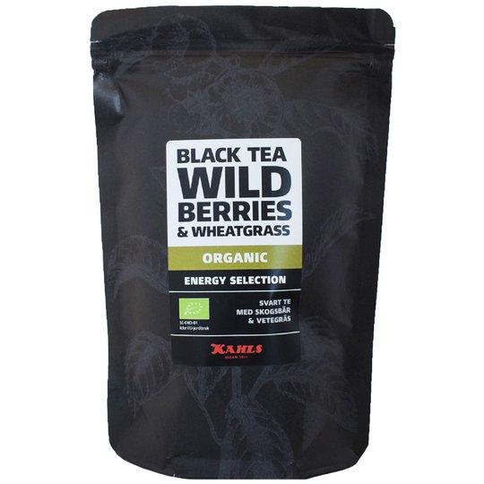 """Eko Svart Te """"Wild Berries & Wheatgrass"""" 100g - 58% rabatt"""
