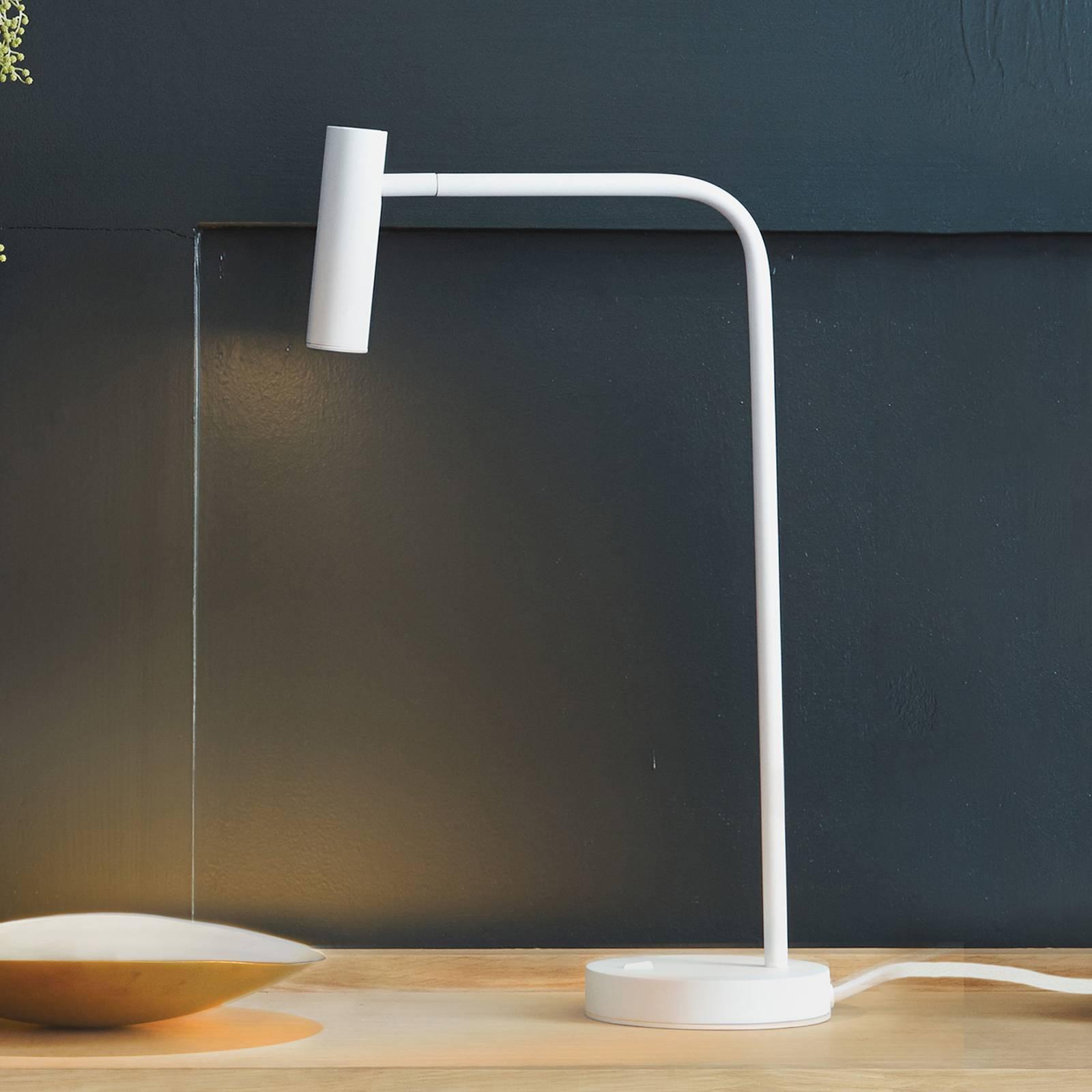 Astro Enna -LED-pöytävalaisin, mattavalkoinen