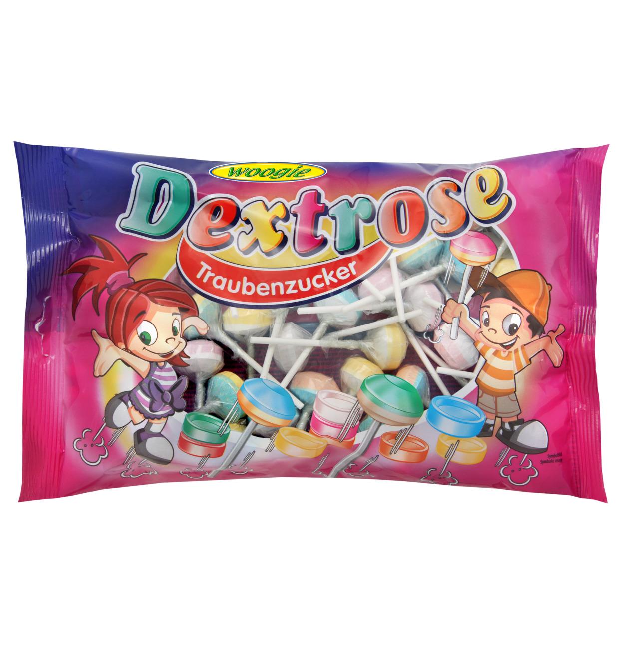 Woogie Dextrose lollipops 400g