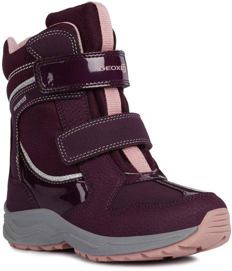 Geox New Alaska WPF Vinterstøvler, Purple/Pink 24