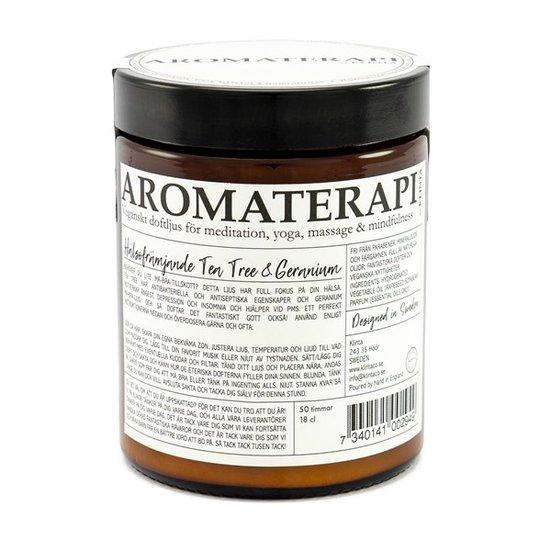 Klinta Doftljus Aromaterapi - Tea Tree & Geranium