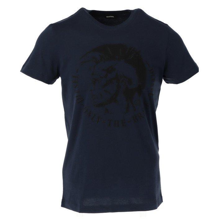 Diesel Men's T-Shirt Various Colours 187816 - blue S