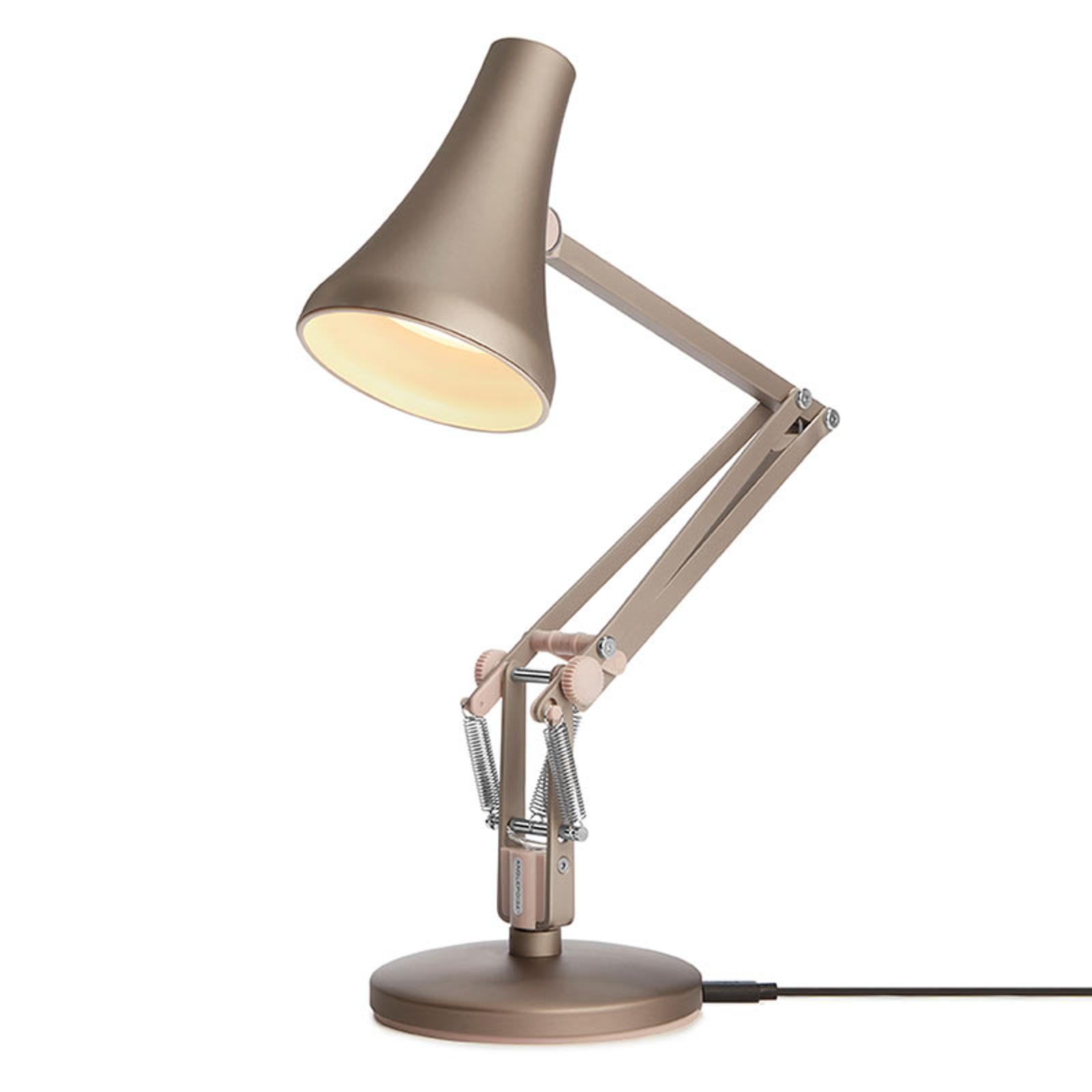 Anglepoise 90 Mini Mini -LED-pöytälamppu hopea