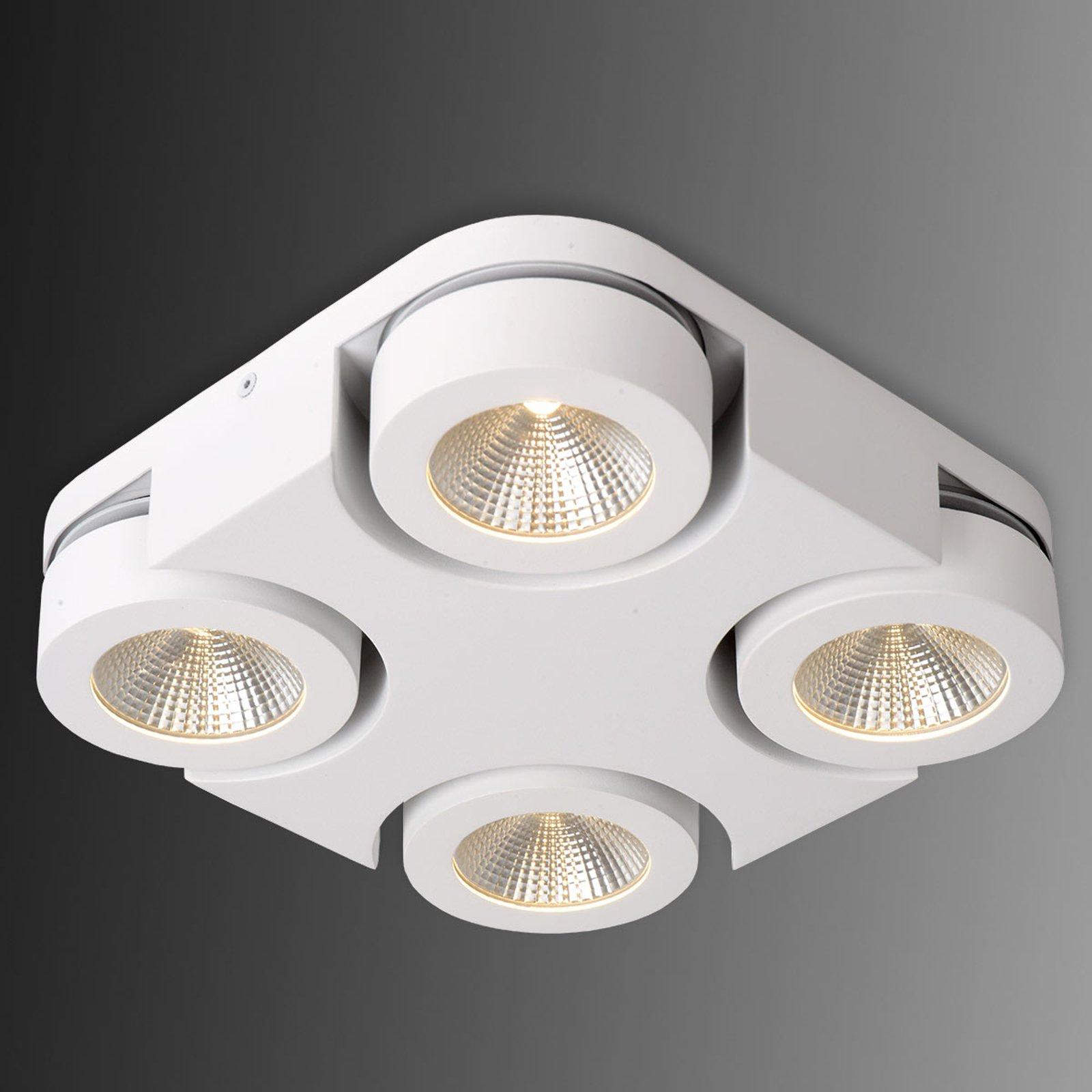 Kvadratisk LED-taklammpe Mitrax