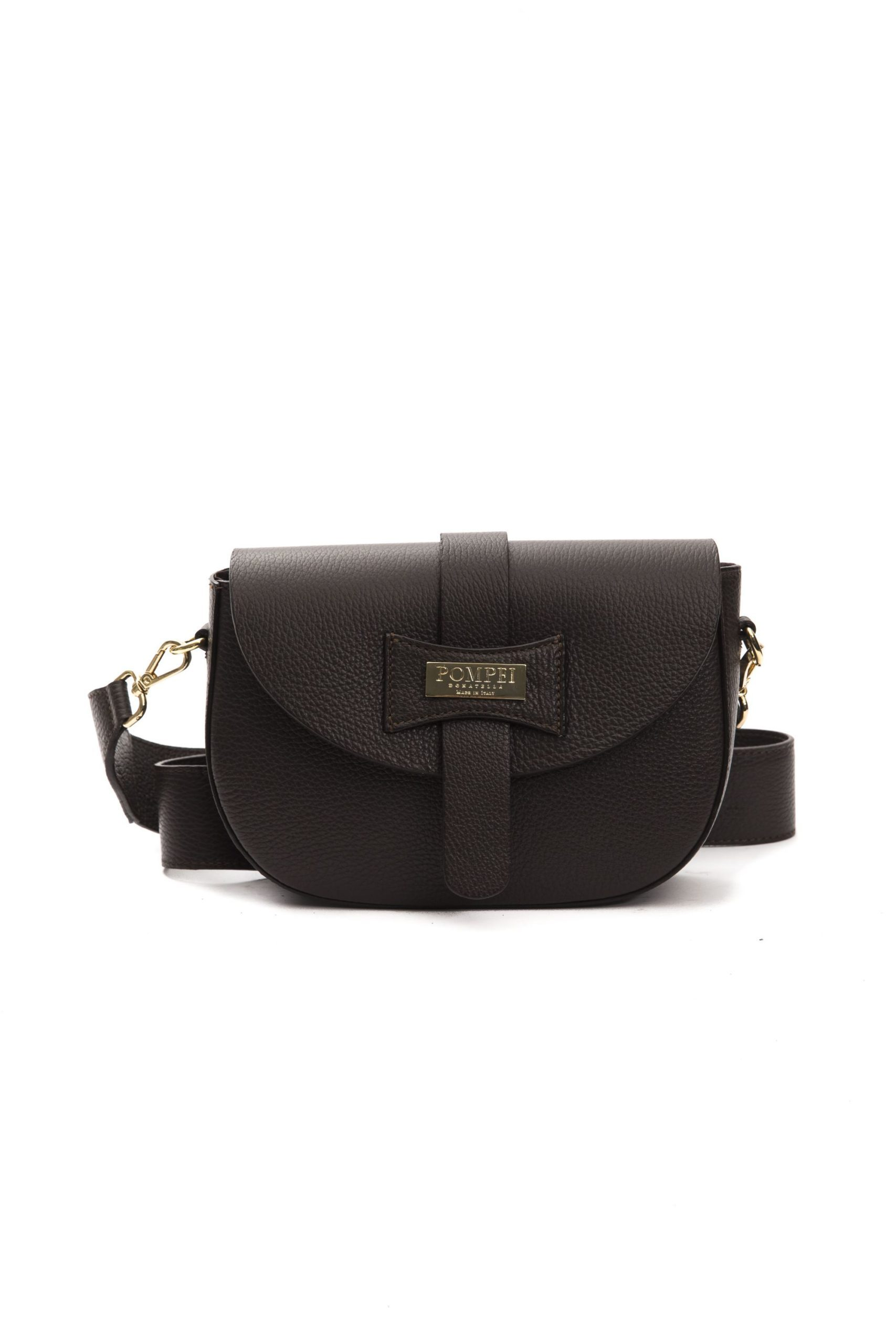 Pompei Donatella Women's Cioccolato Crossbody Bag Brown PO1004885