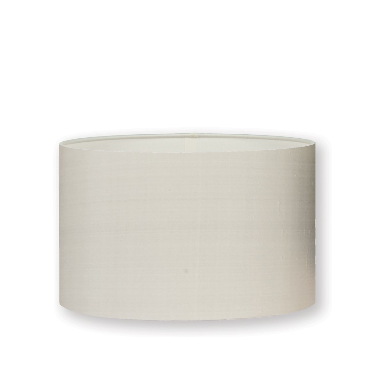 "William Yeoward | Silk 16"" Drum Lampshade Chalk"