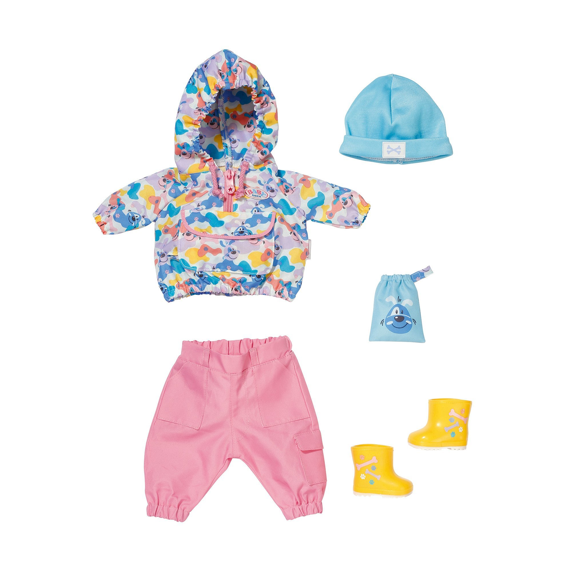 Baby Born - Dlx Walk the Dog Outfit 43cm (829905)