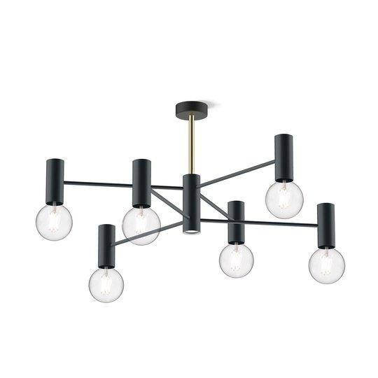 Modo Luce Chandelier taklampe 13 lys 107cm svart