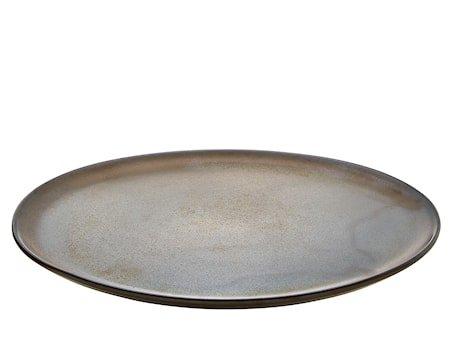 Raw Tallerken Brun 28cm