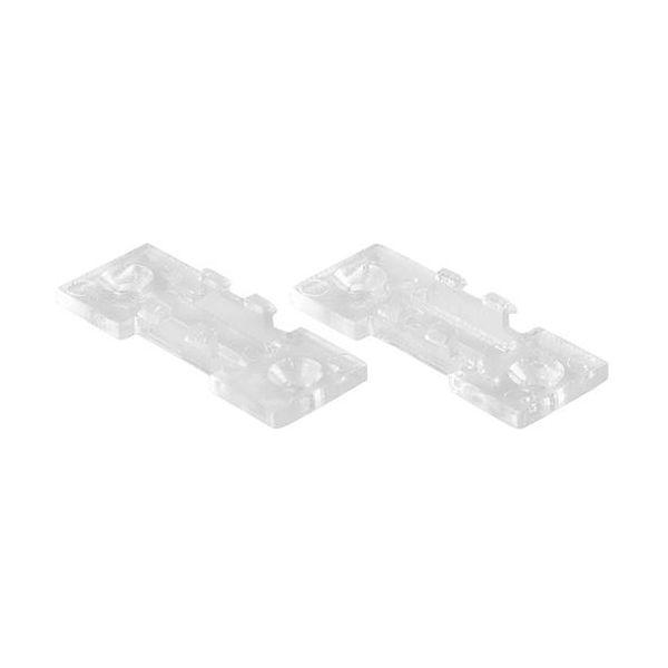 Hide-a-Lite 7550658 Klips til aluminiumprofiler, 2-pakk