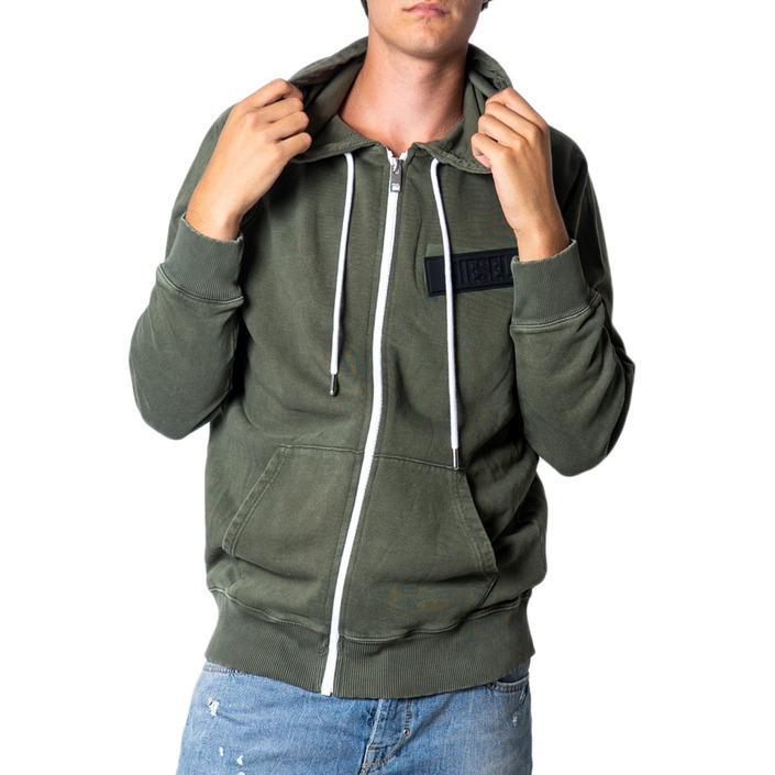 Diesel Men's Sweatshirt Green 175470 - green S