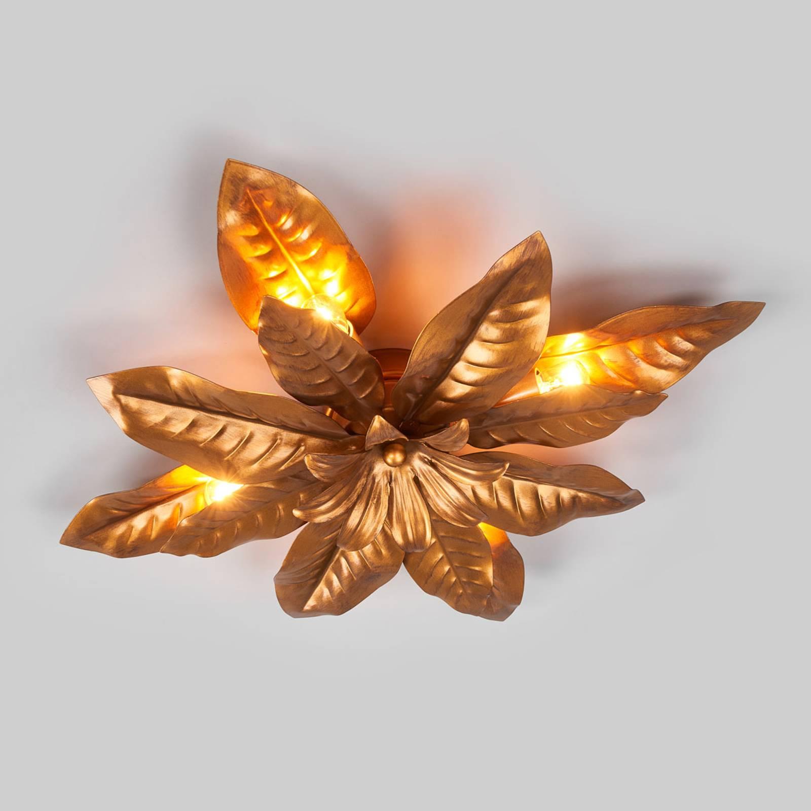 Ennennäkemättömän upea FLEURIA-kattovalaisin kulta