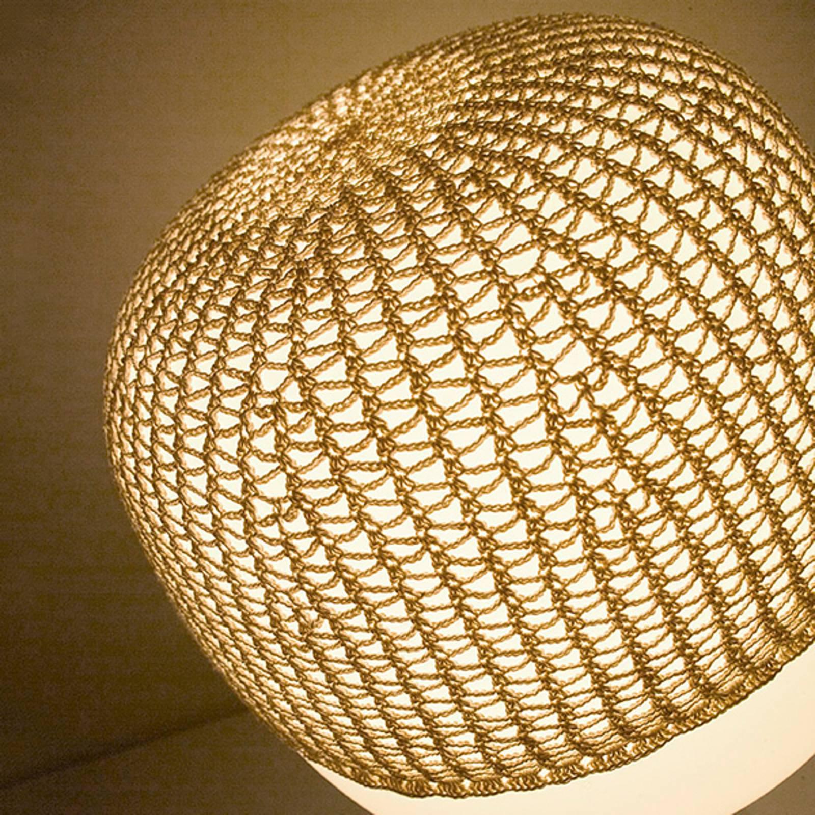 Nett til bordlampe Afra, beige