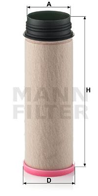 Toisioilmasuodatin MANN-FILTER CF 1250