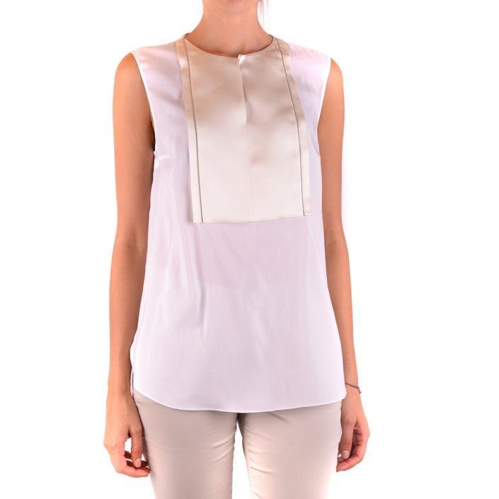 Brunello Cucinelli Women's Top White 163973 - white L