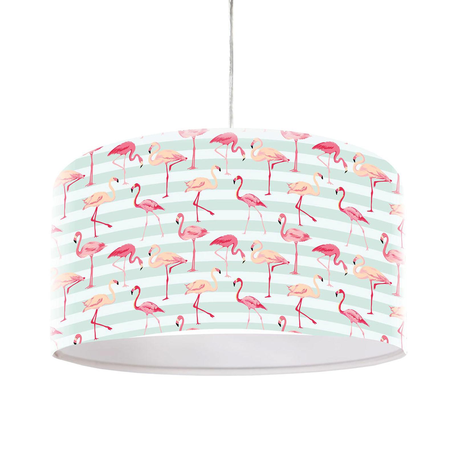 Flamingo-motiivilla painatettu riippuvalo Miami