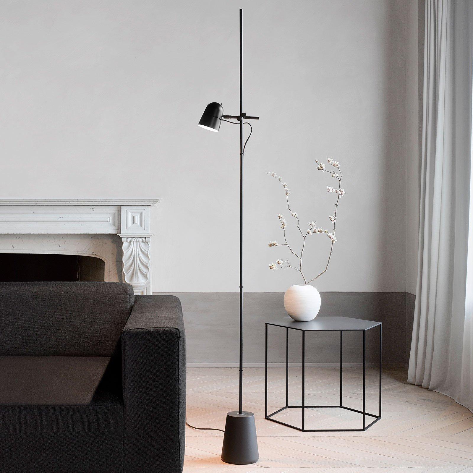 Luceplan Counterbalance LED-gulvlampe, svart