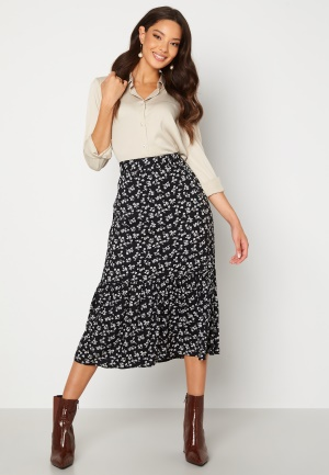 Happy Holly Melony skirt Black / Patterned 36/38