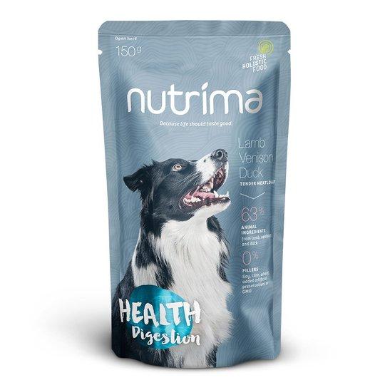Nutrima Health Digestion Lamm, Hjort & Anka 6 x 150 g