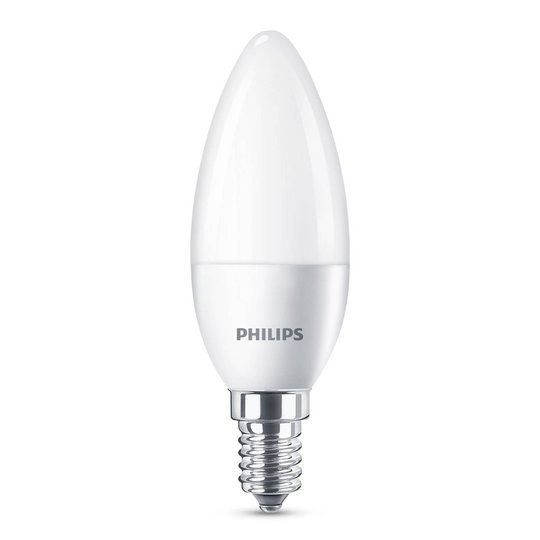 Philips LED-lamppu E14 B35 5,5W matta 4 kpl