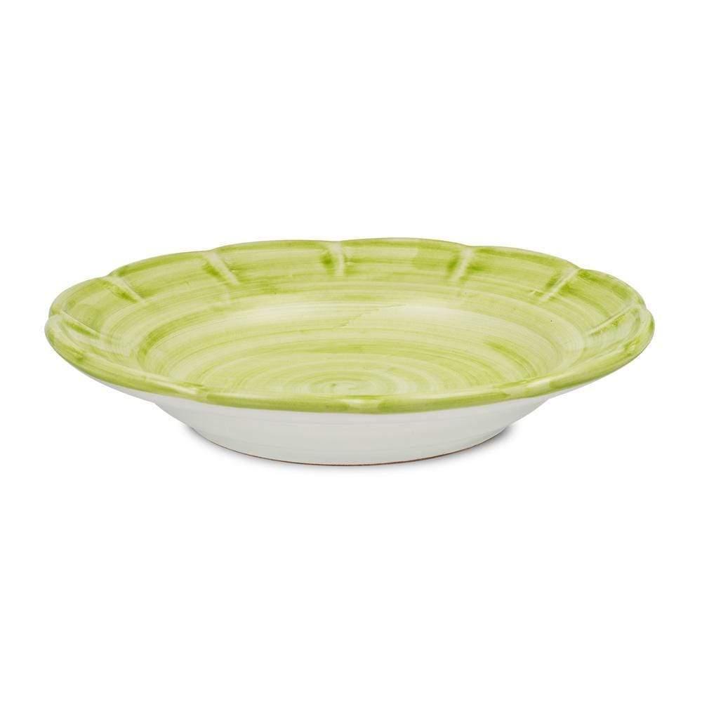 Pasta Dish 23.5cm by Sol'Art in Leaf Green