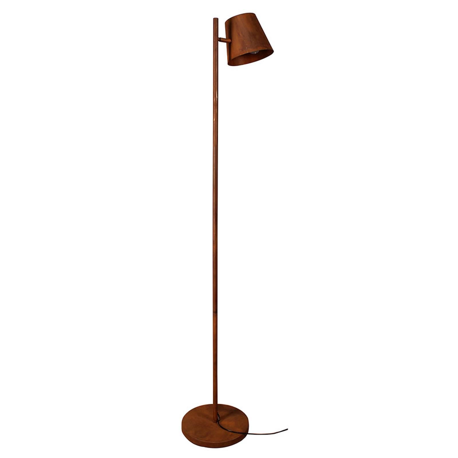 Lattiavalaisin Colt, 1-lamppuinen, antiikinruoste