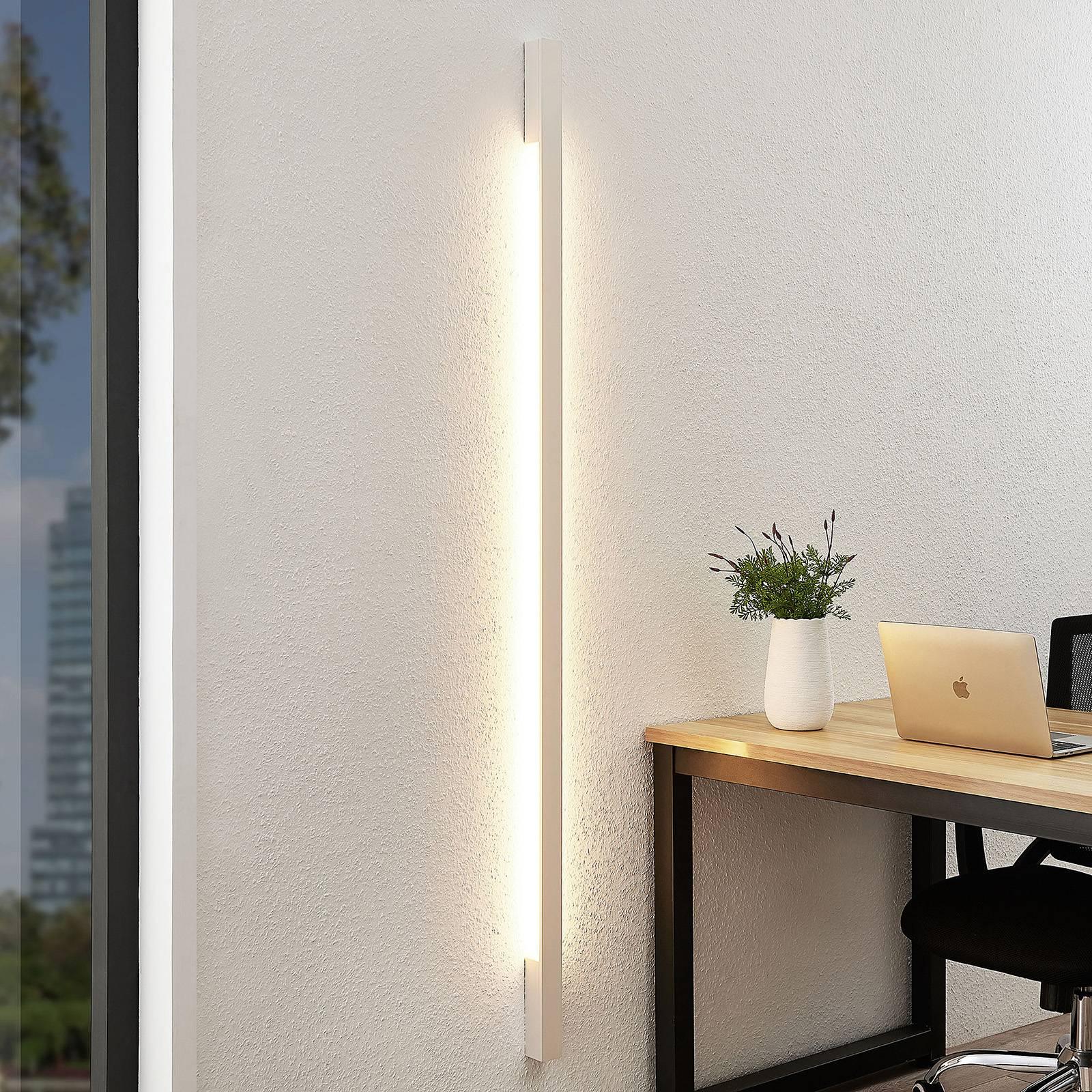 Arcchio Ivano -LED-seinävalaisin 170 cm, valkoinen