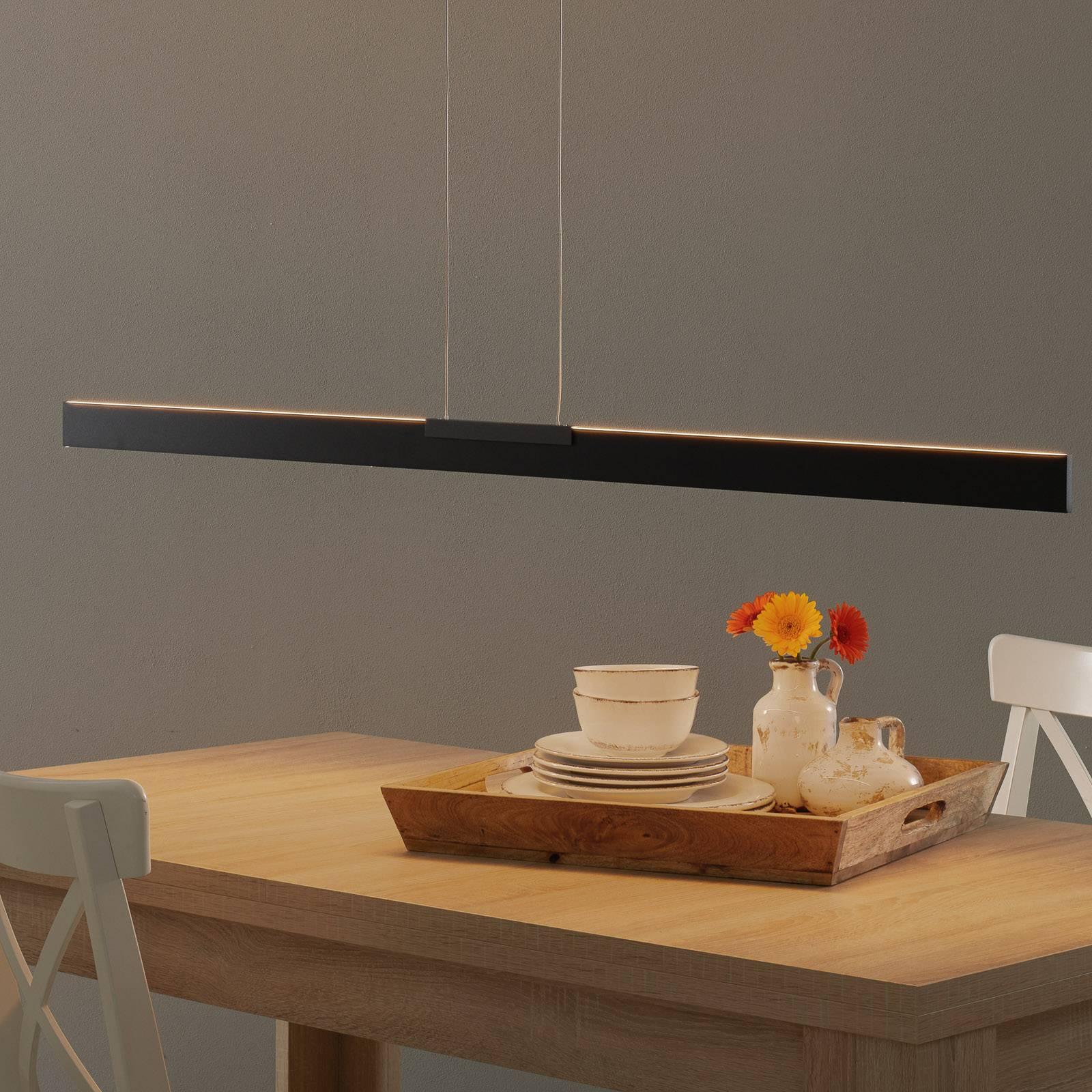 Bopp Nano -LED-riippuvalaisin, musta 140 cm