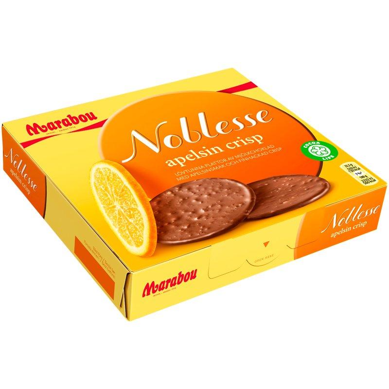 Maitosuklaa Noblesse Appelsiini - 33% alennus