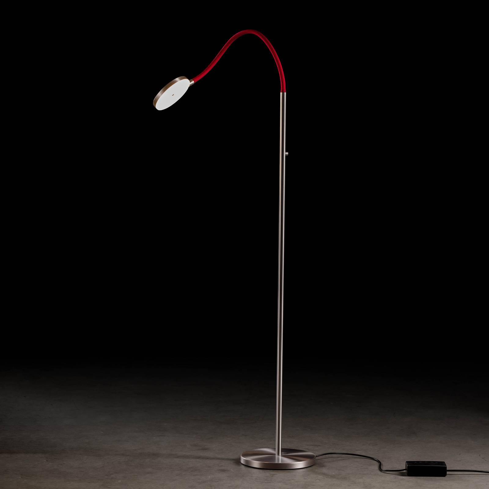 Holtkötter Flex S -LED-lattiavalaisin, punainen