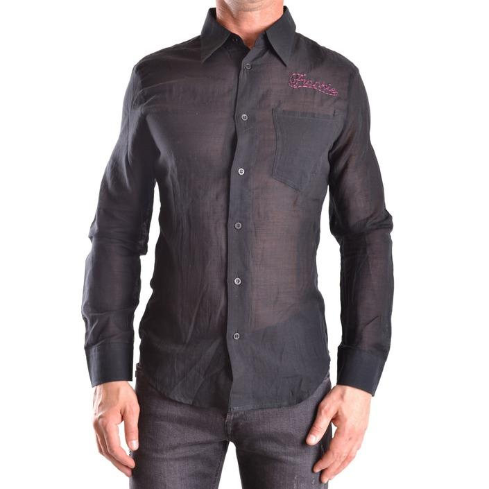 Frankie Morello Men's Shirt Black 186677 - black M