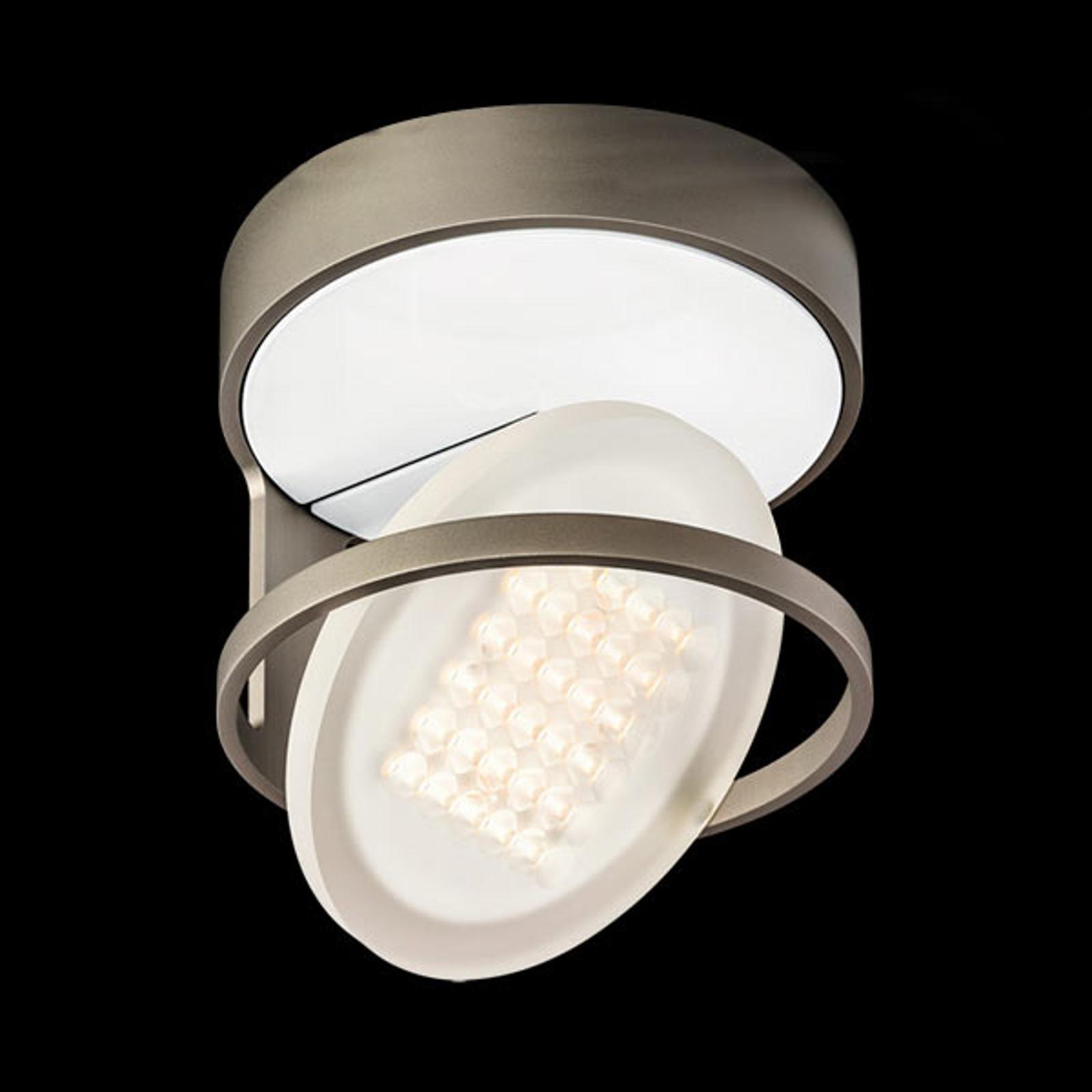 Nimbus Rim R 36 LED-kattovalaisin, titaaninharmaa