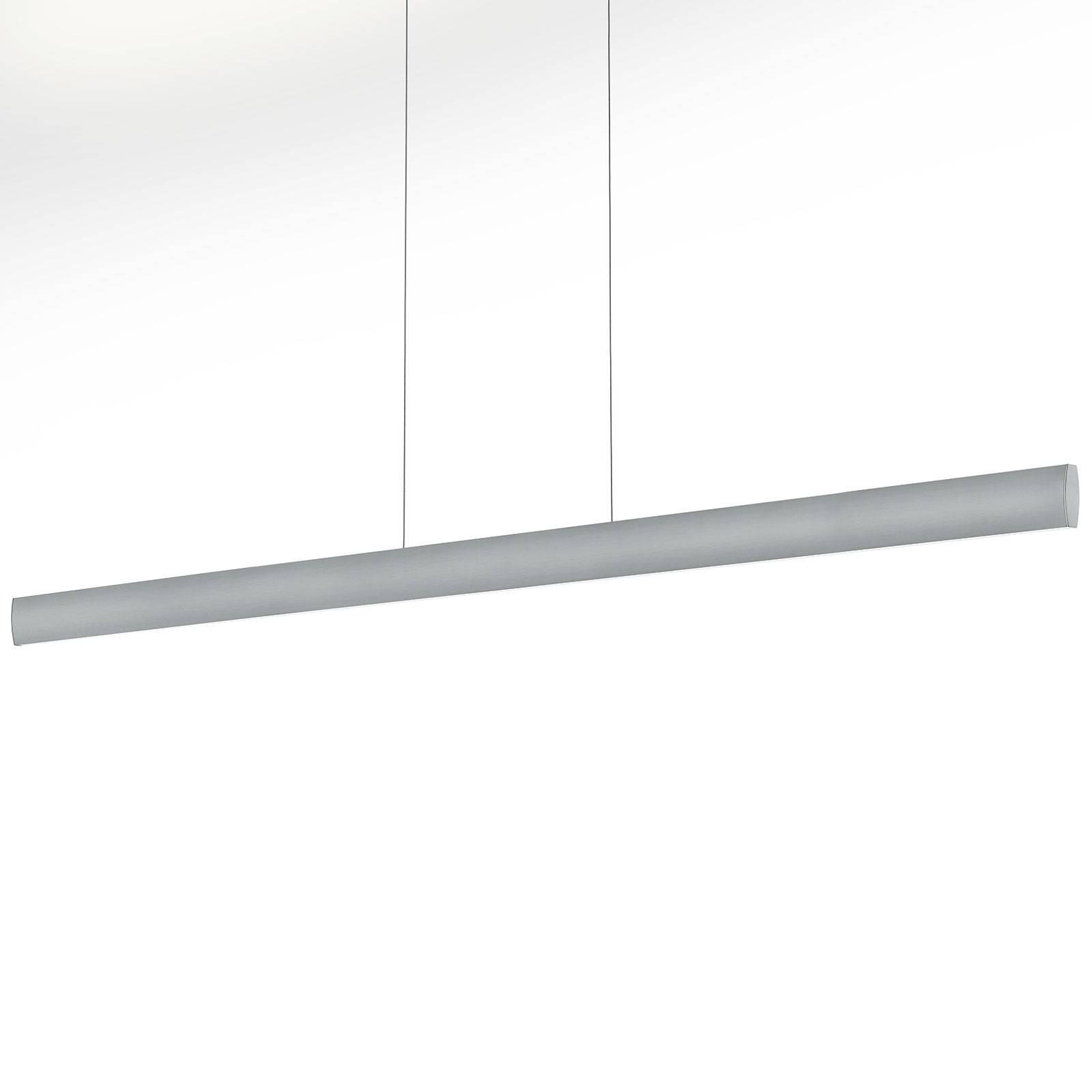 LED-riippuvalaisin Runa, nikkeli, pituus 152 cm