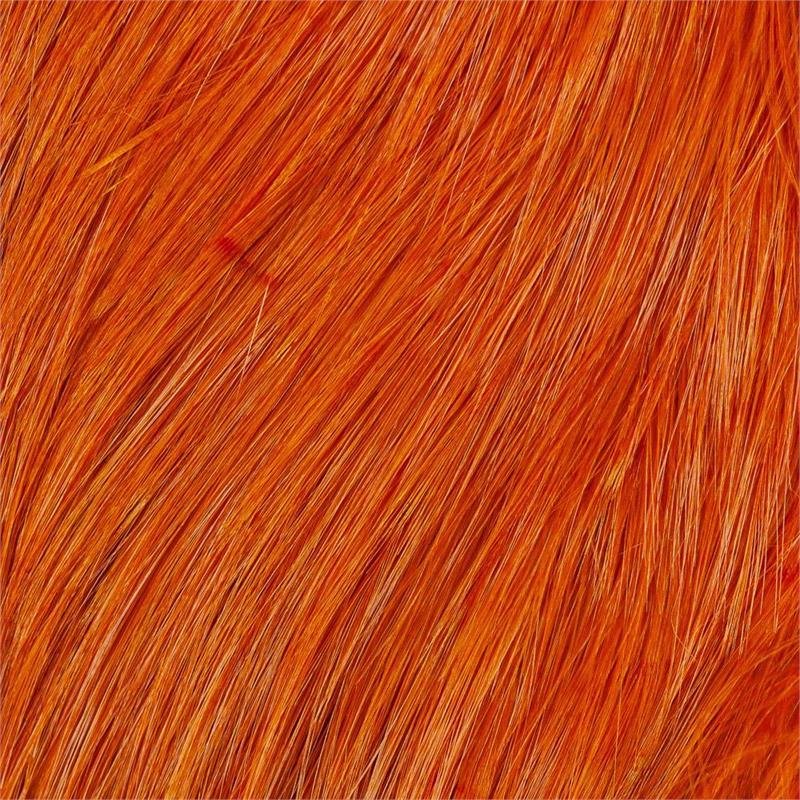 Whiting Bird Fur Burnt Orange