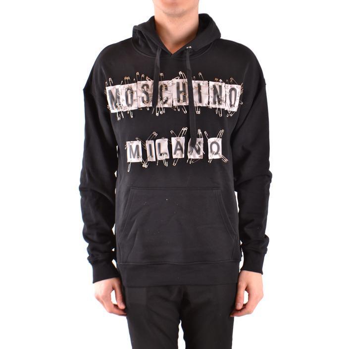 Moschino Men's Sweatshirt Black 166980 - black 46