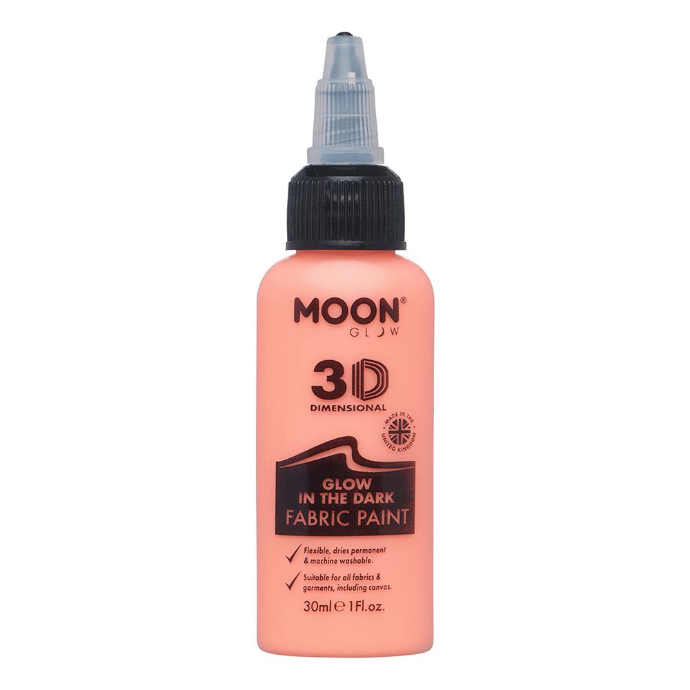 Moon Creations Självlysande Textilfärg - Orange