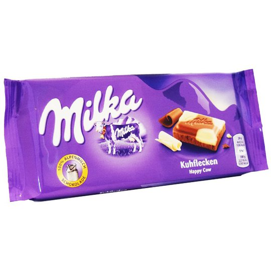 Mjölk- & Vitchokladkaka 100g - 37% rabatt