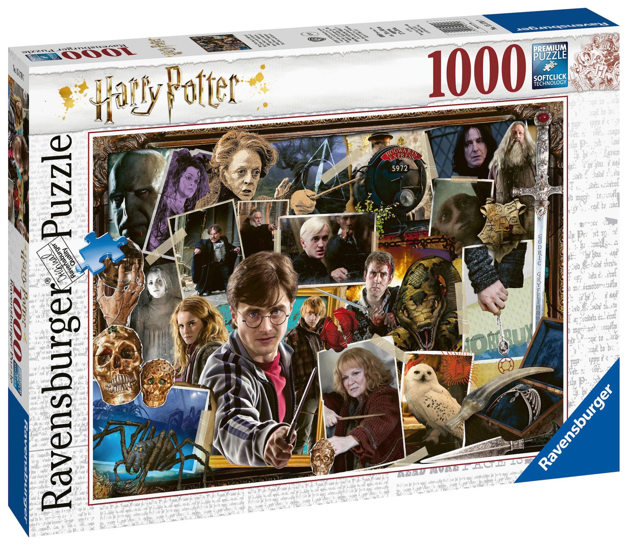 Ravensburger Pussel Harry Potter Voldemort 1000 Bitar