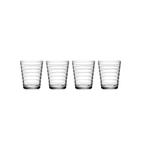 Aino Aalto Glass Klar 22 cl 4 stk.