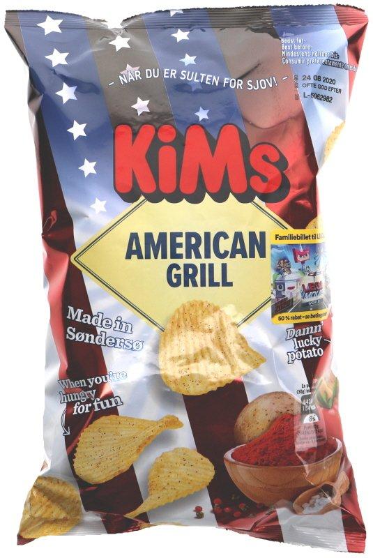 Chips American Grill - 25% rabatt