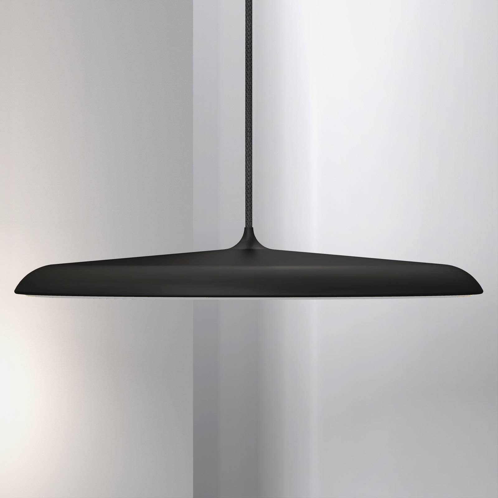 LED-riippuvalaisin Artist, Ø 40 cm, musta